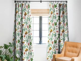 Holli Zollinger Herbal Study Blackout Curtain Panel Retail 87 49