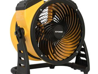 XPOWER FC 100 1100 CFM 4 Speed Portable Multipurpose 11  Utility Fan  Plugged in and fan works