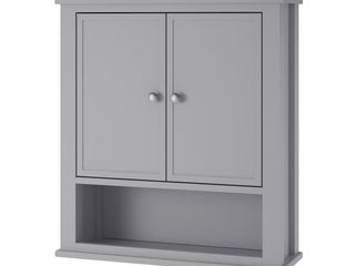 Avenue Greene Bantum Wall Cabinet   Gray