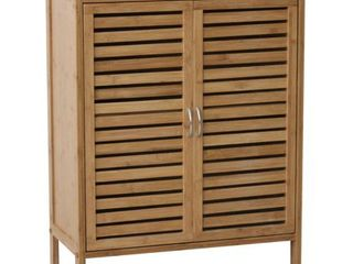 Gallerie Decor Natural Bamboo Floor Cabinet