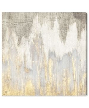 Oliver Gal  Golden Caves  Abstract Wall Art Canvas Print