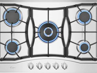 30  Stainless Steel Built in 5 Burners Gas Cooktop