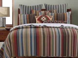 Greenland Home Fashions Durango 100 percent Cotton Quilt Set  3 Piece  King