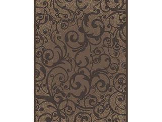 Radici USA 1845 Pristine Traditional Ivory Scroll Area Rug  2 2  x 7 7