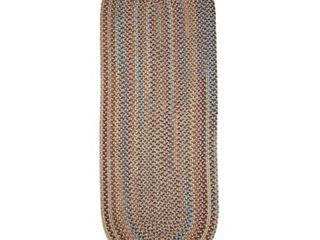 Rhody Rug Augusta Braided Wool Runner Rug  2  x 8    2  x 8  Runner  Retail 116 49