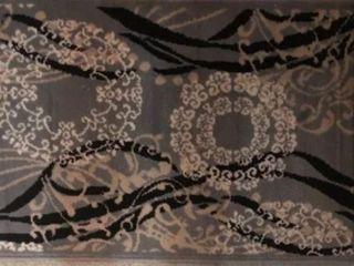 Beverly Hills Copper brown circles mat