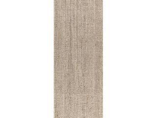 JONATHAN Y Pata Chunky light Ivory 2 ft  x 8 ft  Runner Rug