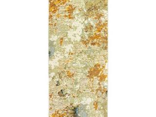 Carson Carrington Albertslund Marble Gold  Beige Area Rug   2 3  x 8  Runner  Retail 153 99