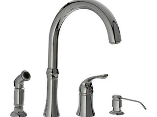 Sir Faucet 4 hole Widespread Kitchen Faucet  Retail 135 49