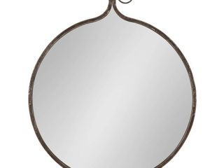 Kate and laurel Yitro Round Wall Mirror  Retail 103 99
