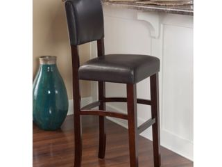 Copper Grove Amravati Vinyl Espresso Bar Stool  Retail 86 99