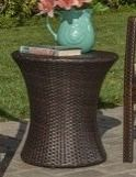 Outdoor Wicker Table by Christopher Knight Home