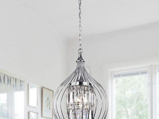 Acatia 3 light Chrome Foyer Pendant  Retail 165 49