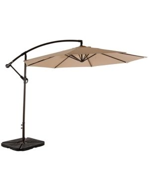 Weller 10ft Offset Canopy Umbrella   Retail 274 49