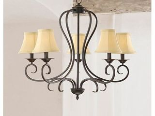 Ashley Bronze 4 light Foyer Hanging lantern  Retail 89 99