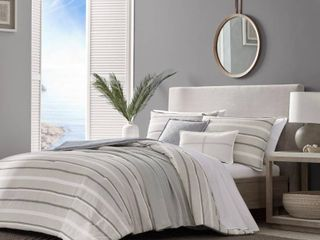 Nautica Woodbine Comforter Bonus Set  King   Retail 179 98