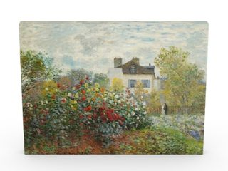 Copper Grove Claude Monet  The Artist s Garden in Argenteuil  Canvas Art  Retail 77 48