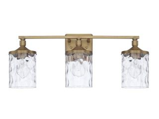 Colton 3 light Bath Vanity Fixture  Retail 144 00