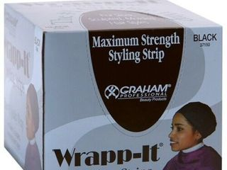 Graham Maximum Strength Wrapp it Styling Black Strips  40 strips