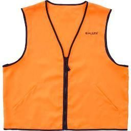 Allen Cases Deluxe Hunting Vest 2X large  Black Orange