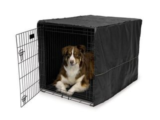 Midwest Black Polyester Crate Cover for 42 Inch Wire Crates  42 Inches by 28 Inches by 30 Inches