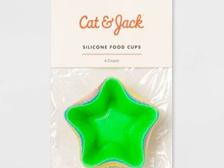 Star Food Storage Cup Green   Cat   Jack