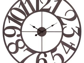 Metal Cut Out Wall Clock Retail 133 99