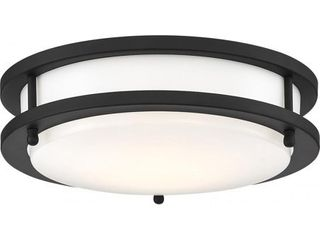 lED Glamour Bl 10 In  Flush light