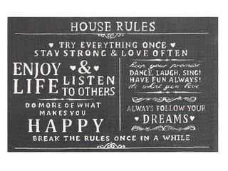 Cotton House Rules Accent Rug  Retail 81 99