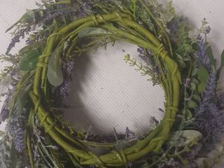 lavender Accent Ring Wreath