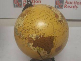 Metal and PVC Vintage Globe