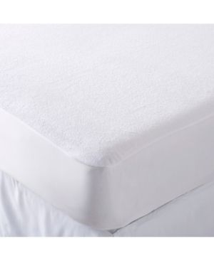 Hypoallergenic Waterproof Mattress Protector   White