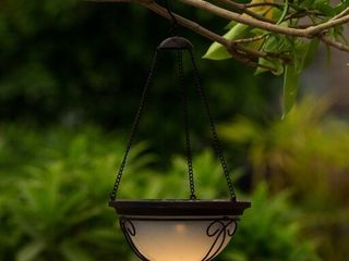 Solar Hanging Accent light With Scroll Design