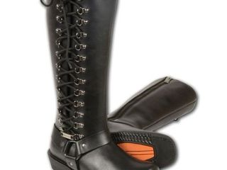 Women s Harness leather Boot Retail 139 97