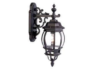Outdoor Matte Black light Fixture   Retail 90 00