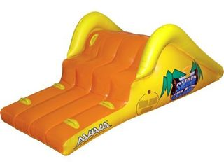 Slick Slider Island Inflatable Pool Water Slide