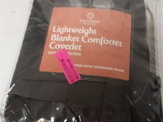 Quilted Microfiber Comforter Set Twin