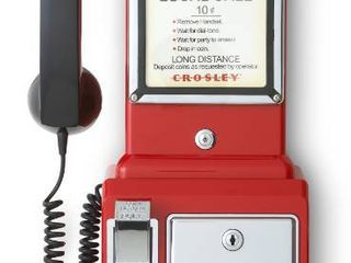 1950 s Payphone Red