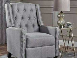 Tufted Fabric Recliner Retail 288 49