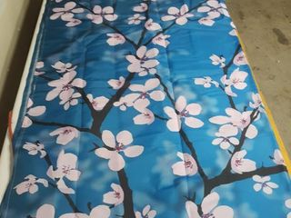 Shower Curtain Pink Blossom 70 in