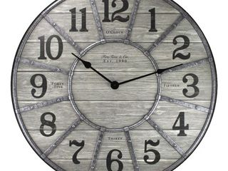 FirsTime   Co  Cooper Wall Clock