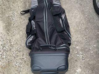 Bag Boy Travel Golf Bag location Garage
