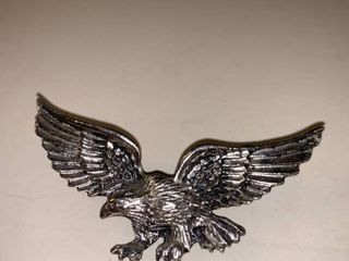 Metal Eagle Pin location Garage Container