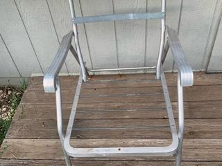 Vintage Aluminum Patio Chair