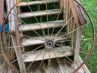 Metal Wagon Wheel