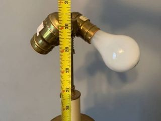 Mid Century Style Brass Chapman lamp location Spare