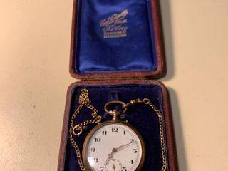 Antique Pocket Watch Unknown Working Condition 1C