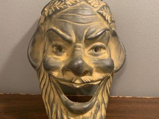 Hand Made in Greece Socrates Mask Wall Hanging location Spare