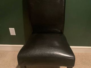 Black Dining Room Chair location Basement