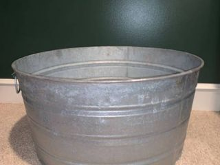 Galvanized Wash Tub location Basement